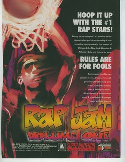 Rap Jam: Volume One Poster