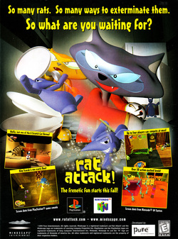 Rat Attack! Poster