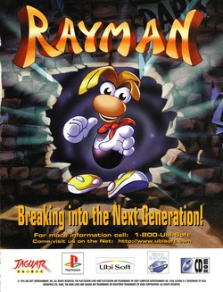 Rayman 2 Poster