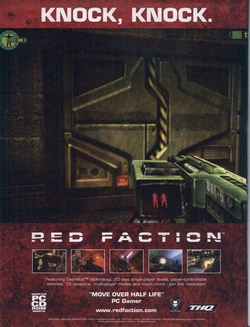 Red Faction Poster