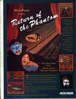 Return of the Phantom Poster