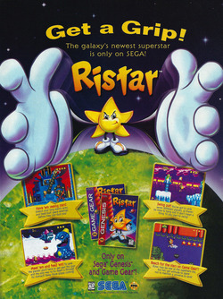Ristar - The Shooting Star Poster