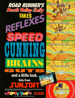 Road Runner's Death Valley Rally Poster