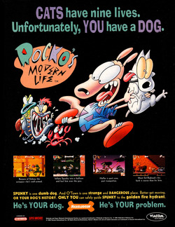 Rocko's Modern Life: Spunky's Dangerous Day Poster