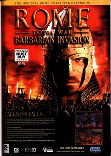 Rome: Total War: Barbarian Invasion Poster