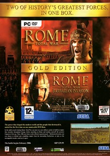 Rome: Total War Gold Edition Poster