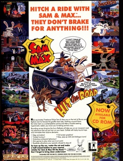 Sam & Max Hit the Road Poster