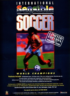 Sensible Soccer - International Edition Poster