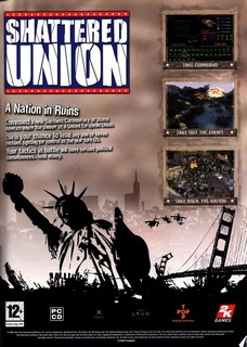 Shattered Union Poster