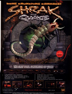 Shrak for Quake Poster