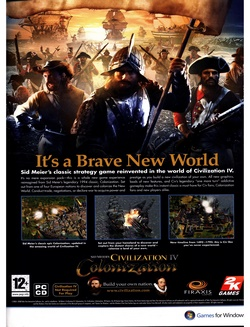 Sid Meier's Civilization IV: Colonization Poster