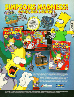 The Simpsons - Krusty's Super Funhouse Poster