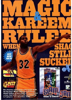 Slam 'N Jam '96 Featuring Magic & Kareem Poster