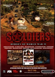 Soldiers: Heroes of World War 2 Poster