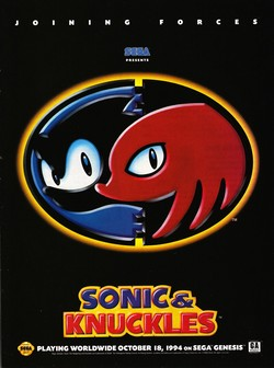 Sonic and Knuckles Poster