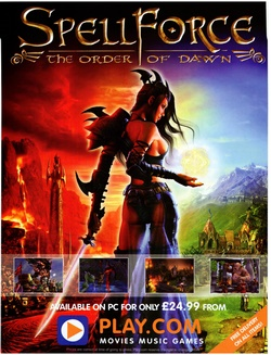SpellForce: The Order of Dawn Poster
