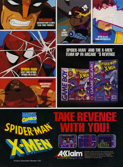 Spider-Man and X-Men - Arcade's Revenge Poster