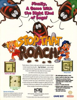 Stop That Roach! Poster