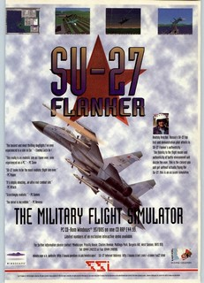 SU-27 Flanker Poster
