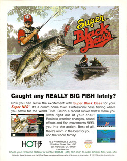 Super Black Bass Poster