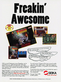 Super Turrican Poster
