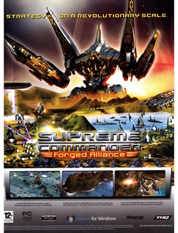 Supreme Commander: Forged Alliance Poster