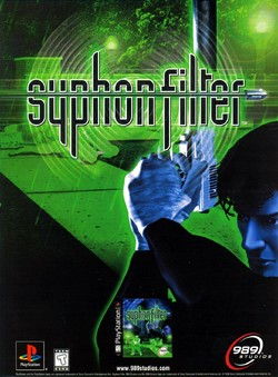 Syphon Filter Poster