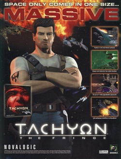 Tachyon: The Fringe Poster