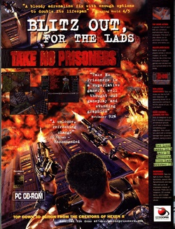 Take No Prisoners Poster