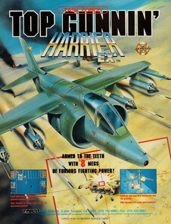 Task Force Harrier EX Poster
