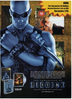 The Chronicles of Riddick: Escape from Butcher Bay Poster