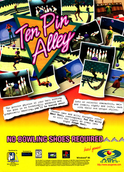 Ten Pin Alley Poster
