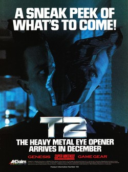 Terminator 2 - The Arcade Game Poster