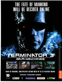 Terminator 3: War of the Machines Poster