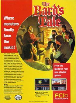 The Bard's Tale Poster