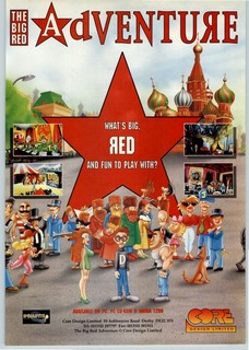 The Big Red Adventure Poster
