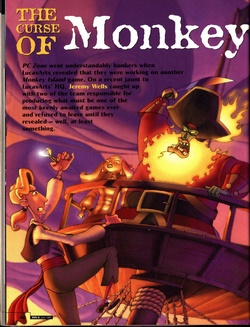 The Curse of Monkey Island Poster