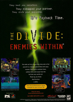 The Divide Enemies Within Poster