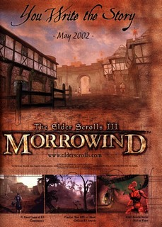 The Elder Scrolls III: Morrowind Poster