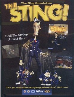 The Sting! Poster