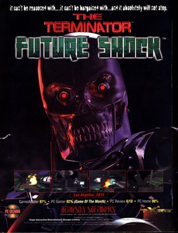 The Terminator: Future Shock Poster