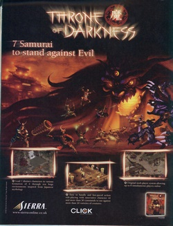 Throne of Darkness Poster