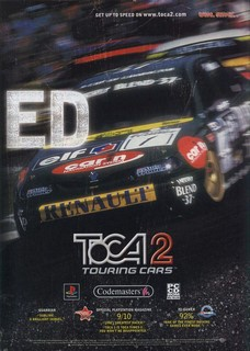 TOCA 2: Touring Cars Poster