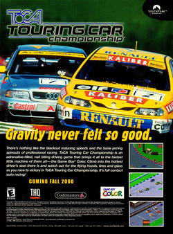 TOCA Touring Car Championship Poster