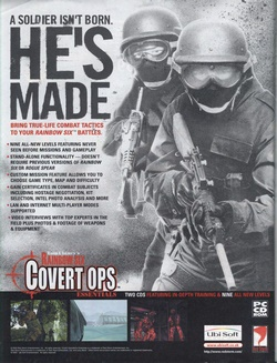 Tom Clancy's Rainbow Six: Covert Ops Essentials Poster