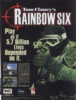 Tom Clancy's Rainbow Six Poster