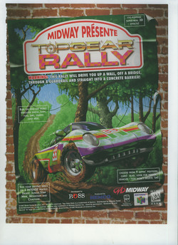 Top Gear Rally Poster