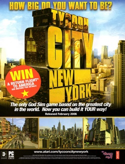 Tycoon City: New York Poster