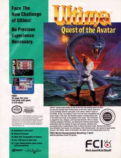 Ultima IV - Quest of the Avatar Poster