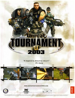 Unreal Tournament 2003 Poster